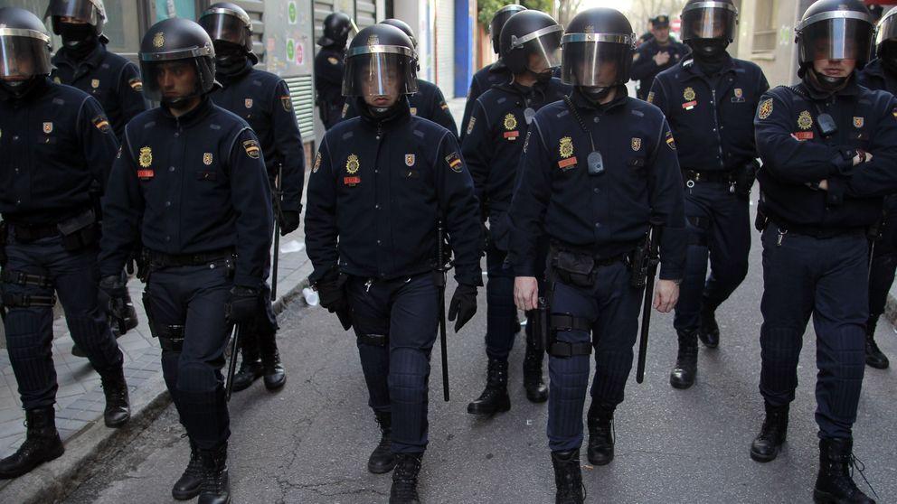 Interior retira 150 antidisturbios de Cataluña tras rebajar el riesgo de altercados violentos