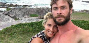 Post de Elsa Pataky promociona una app de fitness de Chris Hemsworth