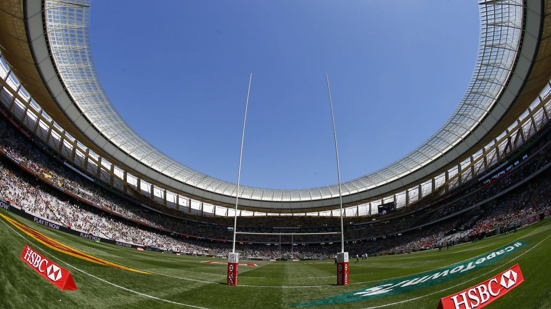 Foto: Imagen panóramica del Estadio de Ciudad del Cabo, donde el pasado fin de semana se disputó el World Rugby Sevens Series (Nic Bothma/EFE-EPA)