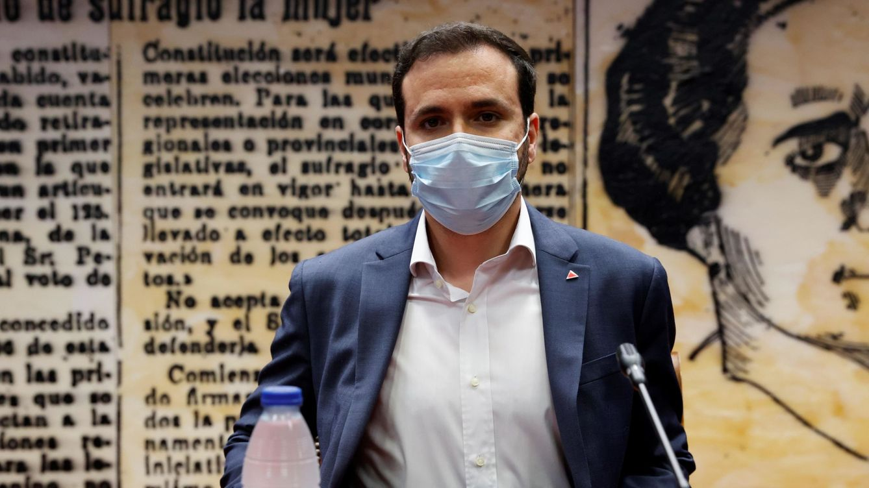 Alberto Garzón (Consumo) plantea una reducción del IVA de la luz hasta el 10%