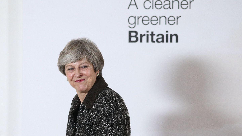 La primera ministra británica, Theresa May. (EFE)