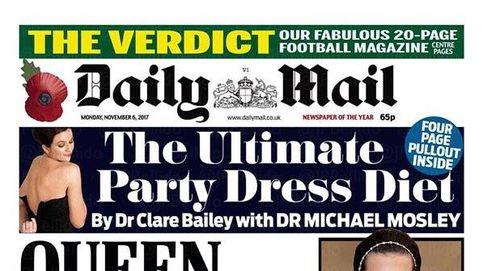 Dios salve a la Reina... de las portadas de los diarios británicos sobre los Paradise Papers
