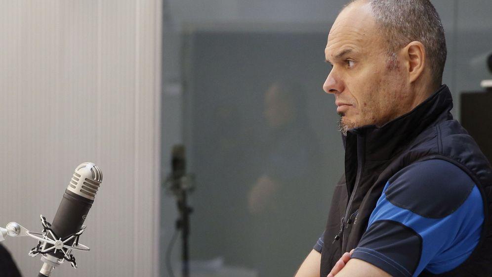 Foto: El etarra Mikel Kabikoitz Carrera, en un juicio en la Audiencia Nacional en 2016. (EFE)