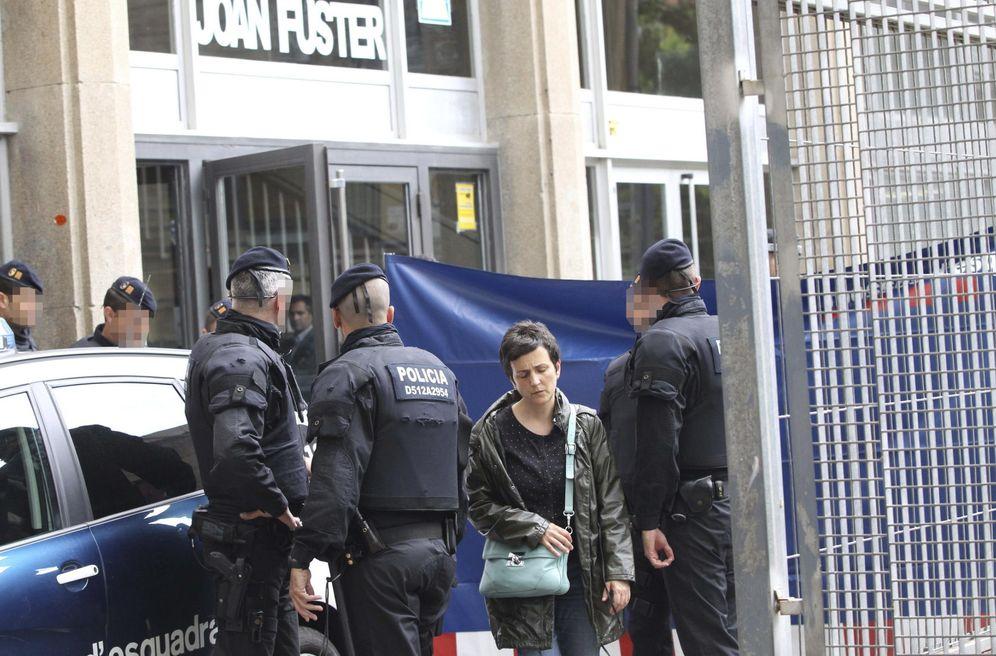 Foto: El instituto en el que el menor asesinó a un profesor. Efe/ Toni Garriga