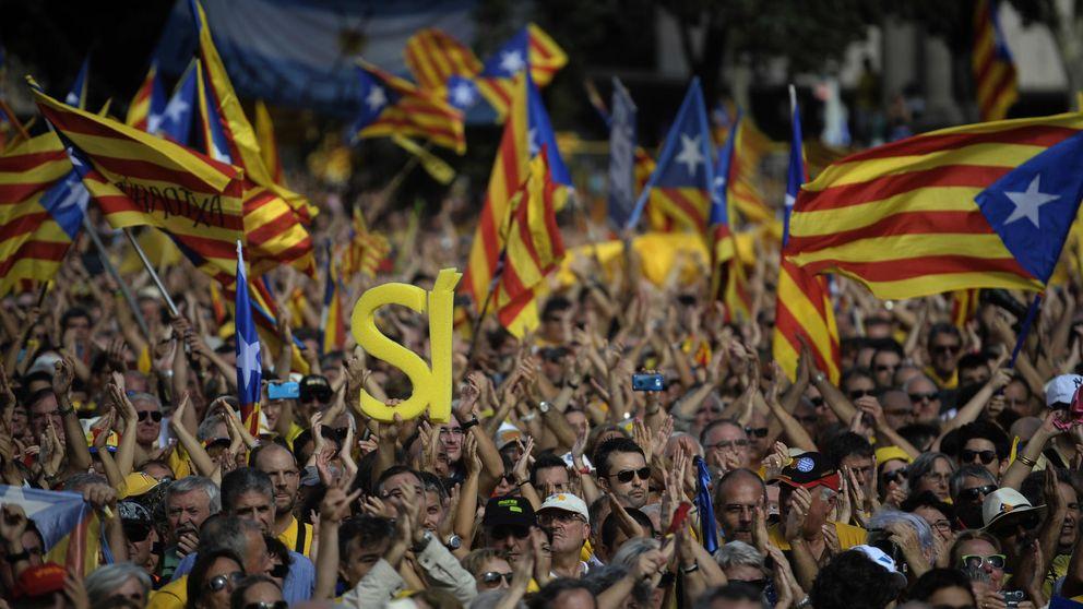 Los independentistas, firmes: 'Esto va en serio y lo saben. No hay marcha atrás'