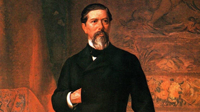 Oleo de Antonio López y López, marqués de Comillas