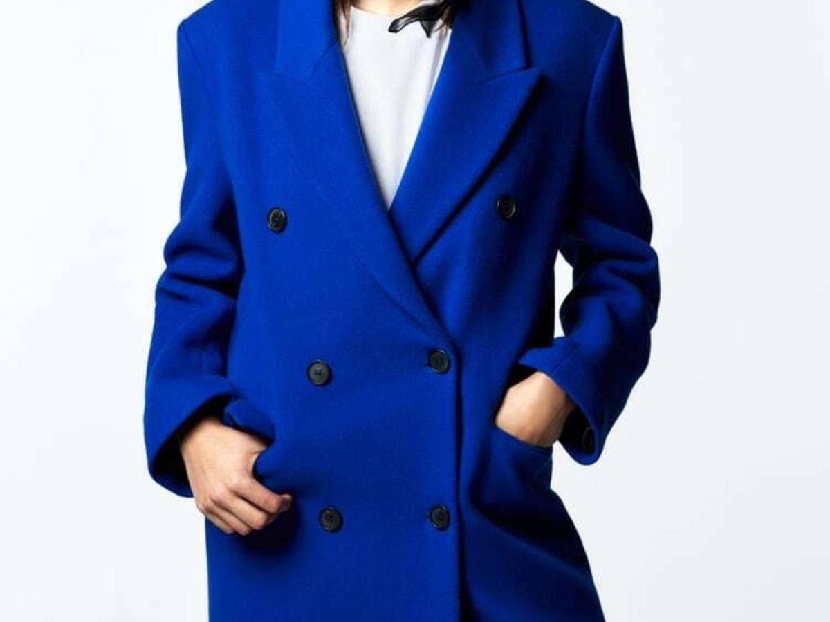 Foto: El nuevo abrigo de Zara. (Cortesía)