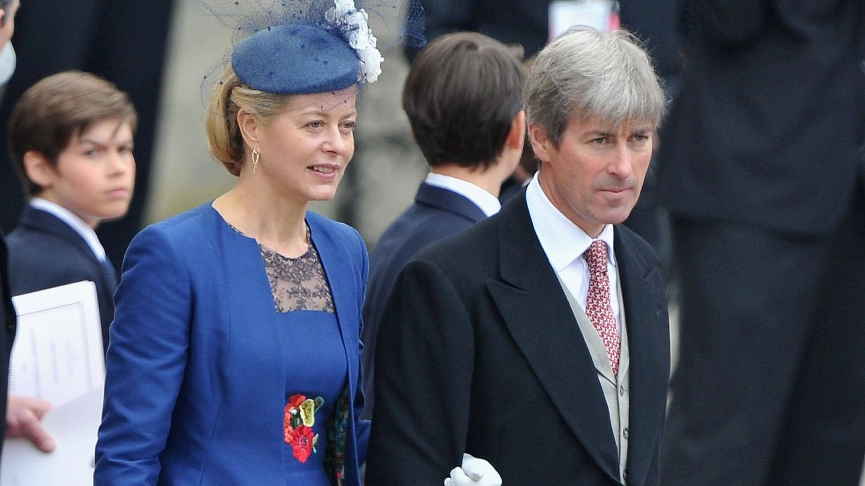 Lady Helen Taylor y su marido. (Getty Images)
