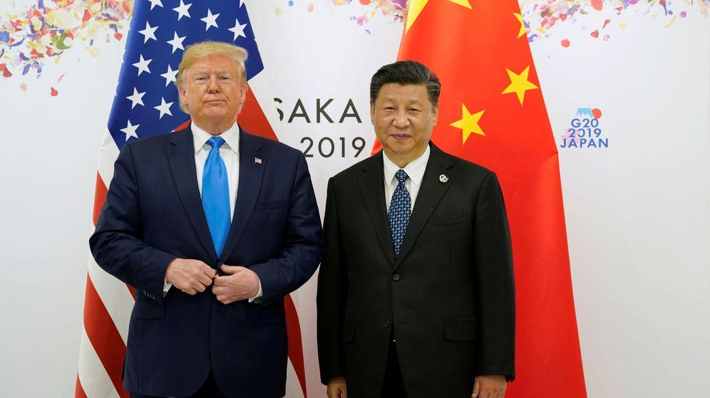 Foto: Trump y Xi. (Reuters)