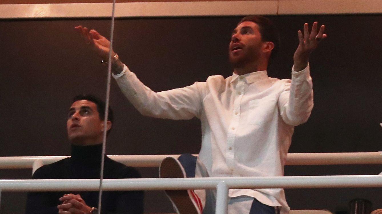 Mientras el Real Madrid se hundía... Sergio Ramos grababa un documental