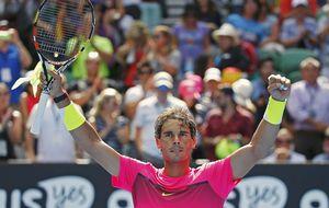 Rafael Nadal fulmina a Youznhy en su debut
