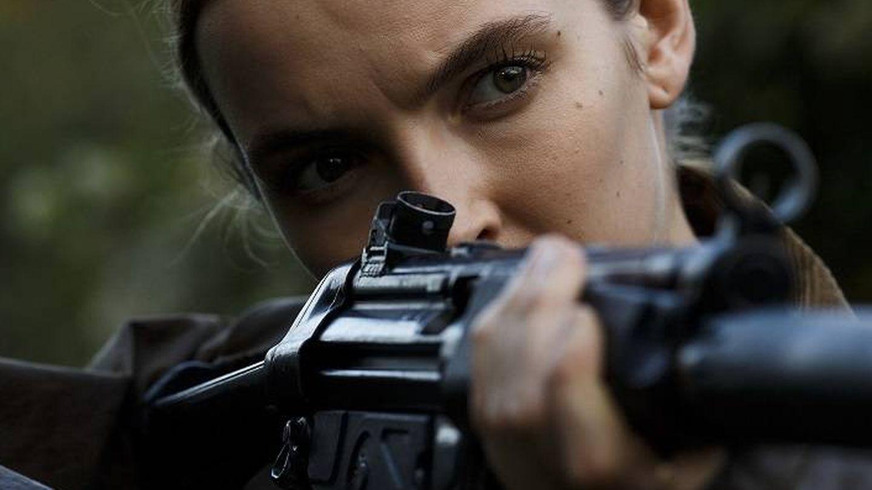 Jodie Comer, como Villanelle, en 'Killing Eve'
