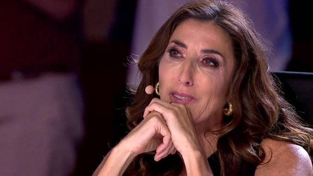Foto: Paz Padilla, en 'Got Talent España'. (Telecinco)