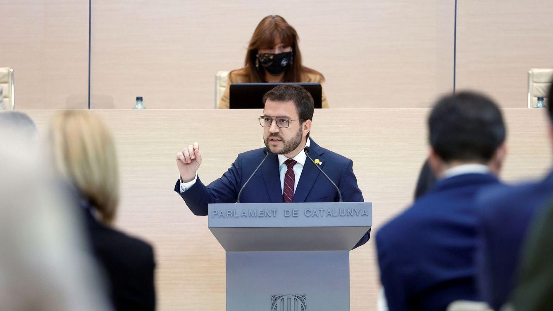 Aragonès pide el voto para ser investido: Es urgente la puesta en marcha del Govern