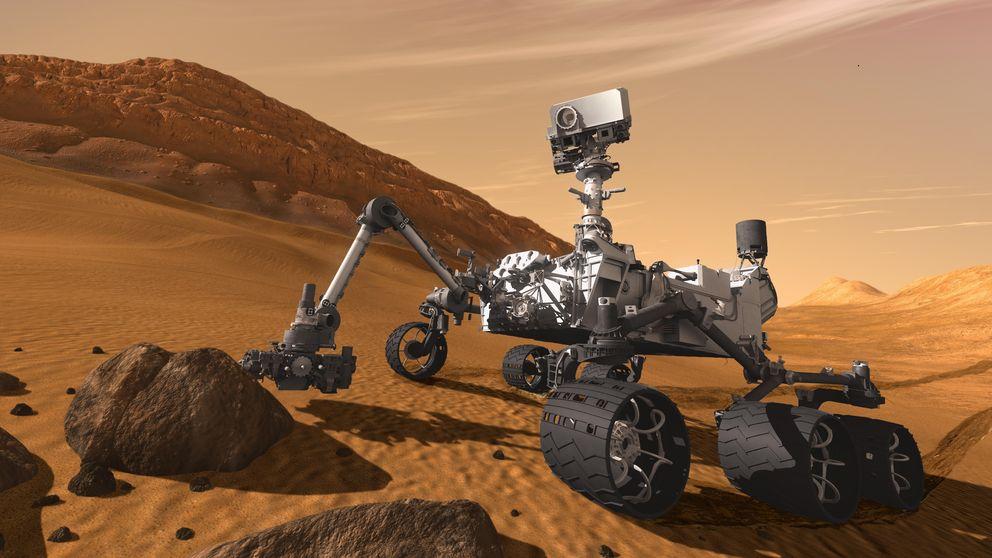 El robot Curiosity encuentra evidencias de agua líquida en Marte