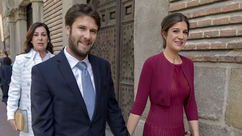Foto: Cynthia Rossi, Benjamin Rouget y Carmen Martínez-Bordiú en una imagen de archivo (Gtres)
