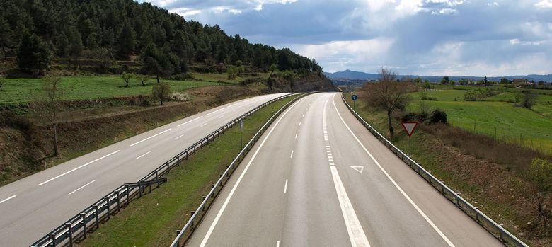 Foto: Autopista Sant Cugat-Terrassa-Manresa (C-16)