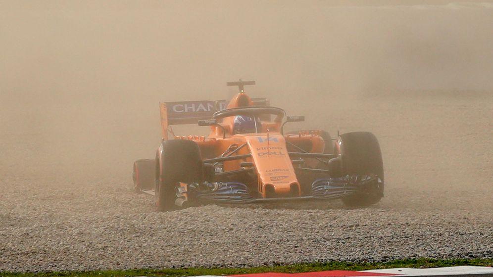 Foto: Las mejores imágenes del primer día de test de Fórmula 1 en Montmeló
