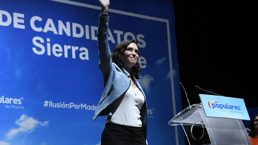 Foto: La candidata a la Comunidad de Madrid, Isabel Díaz Ayuso. (EFE)