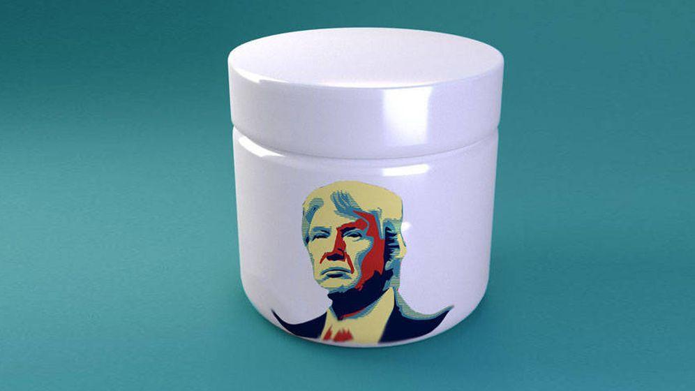 Foto: Trump no es el tratamiento adecuado para tus arrugas.