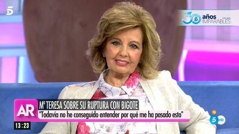 María Teresa, con AR: de su salida forzosa de Telecinco a sus proyectos