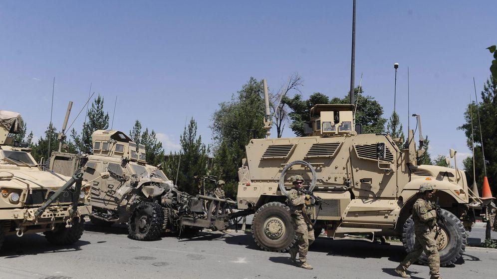 Foto: Tropas de la OTAN en Kabul. (EFE)