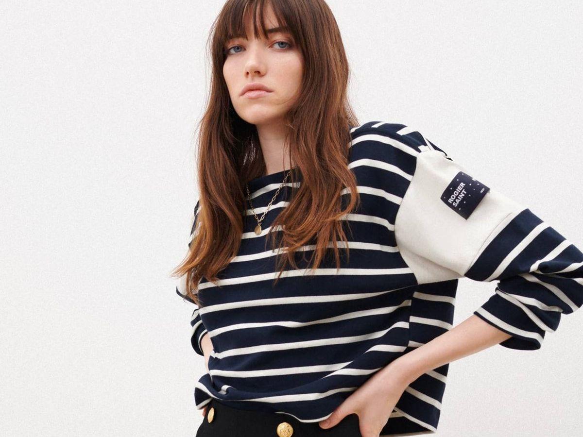 Foto: Sudadera de rayas de Zara. (Cortesía)