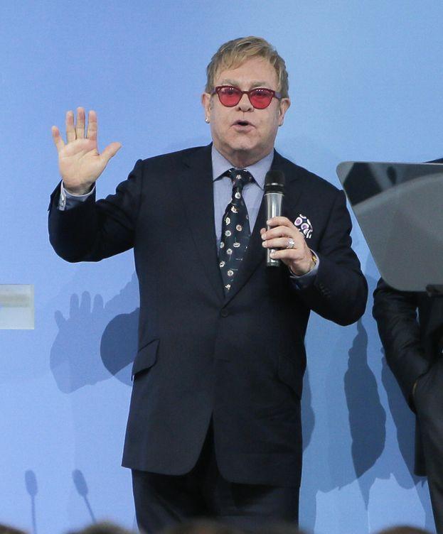 Foto: Elton John en una imagen de archivo (Gtres)