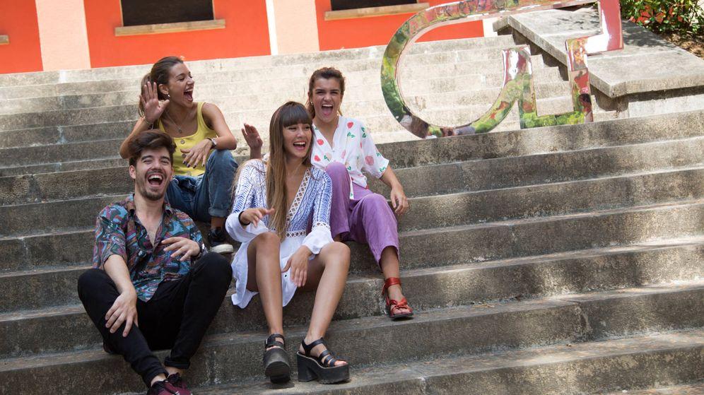 Foto: Roi, Ana Guerra, Aitana y Amaia, en el casting final de 'OT 2018'. (Carmen Carrázquez / RTVE)