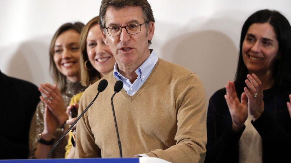 Foto: El presidente del Partido Popular de Galicia, Alberto Núñez Feijóo. (EFE)