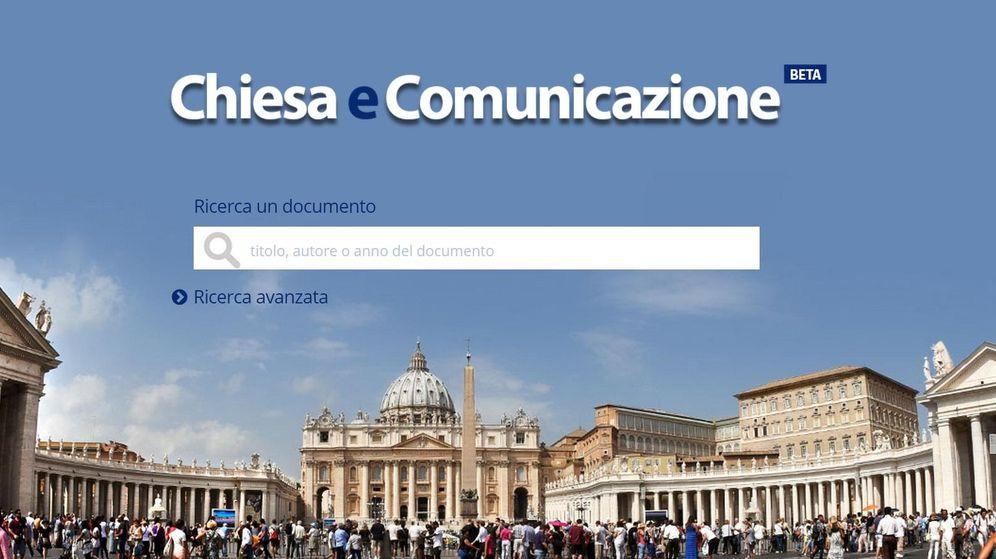 Foto: Captura de pantalla del nuevo portal del Vaticano