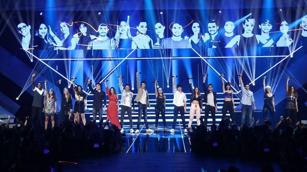 Foto: Los concursantes de 'Operación Triunfo 2018'. (TVE)
