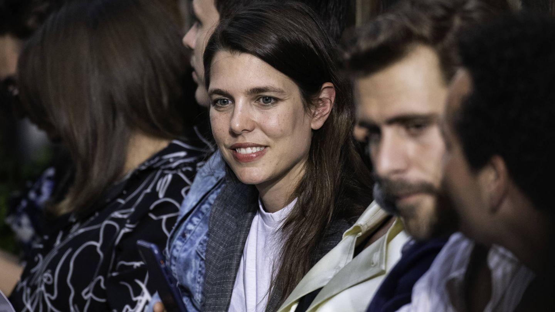 Carlota Casiraghi, en la Semana de la Moda de París en junio de 2019. (Getty)