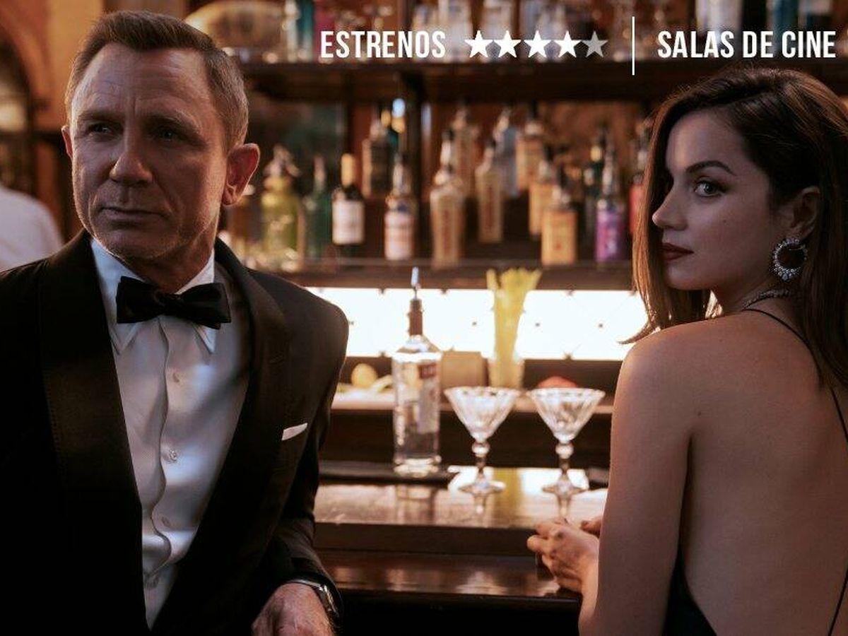 Foto: Daniel Craig y Ana de Armas, en un momento de 'Sin tiempo para morir'. (Universal)
