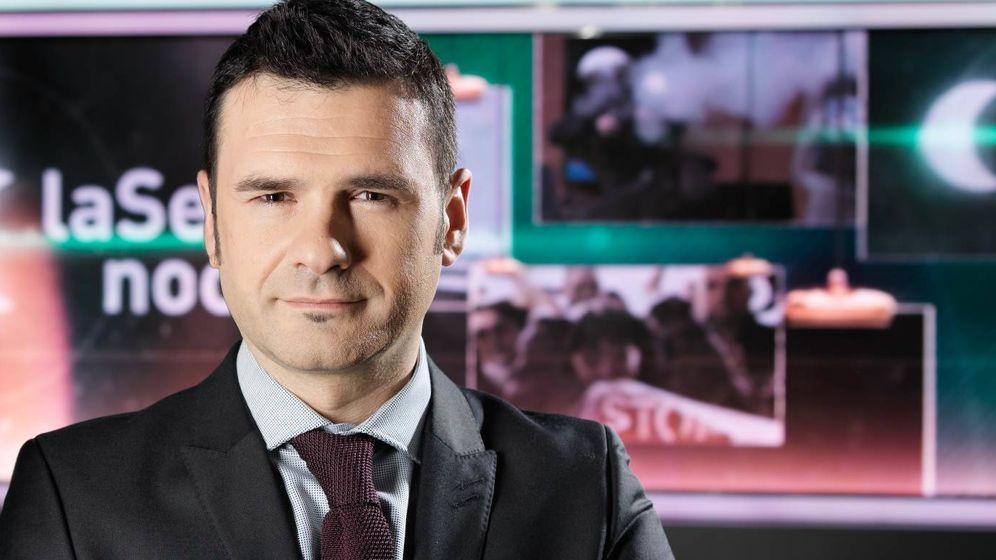 Foto: Iñaki López, presentador de 'La Sexta Noche'. (Atresmedia).