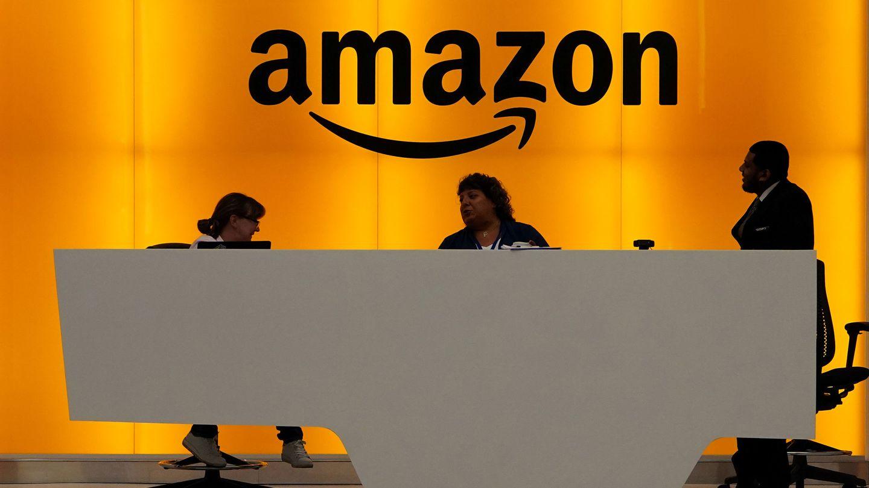 Recepción de la sede de Amazon en Nueva York. (Reuters)
