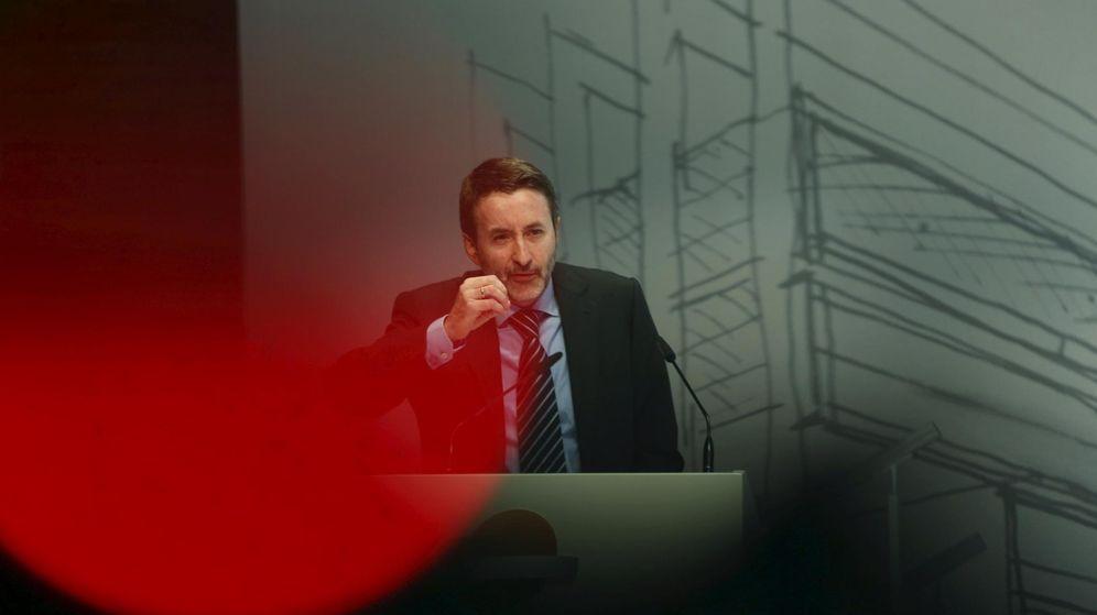 Foto: Josu Jon Imaz, en una conferencia en Madrid. (EFE)