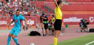 Post de Guadalupe Porras, la primera árbitra de La Liga, se estrena como asistente del VAR