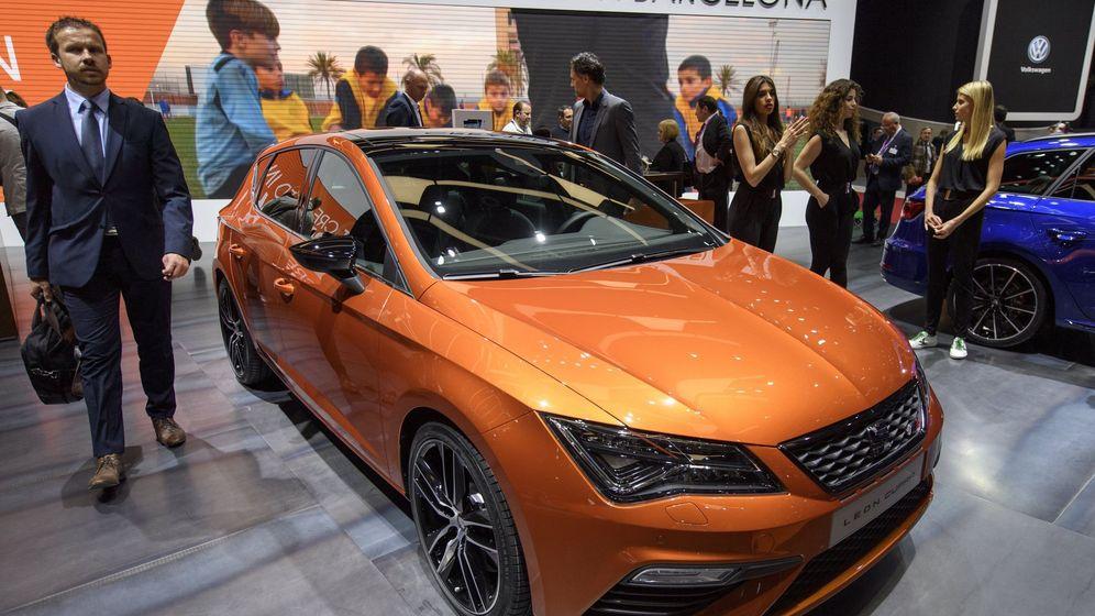 Foto: Vista del Seat León ST Cupra que se presentó  en el Salón del Automóvil de Ginebra en marzo. (EFE)