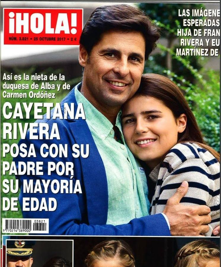 Foto: Portada de la revista '¡Hola!' por el cumpleaños de Tana Rivera.