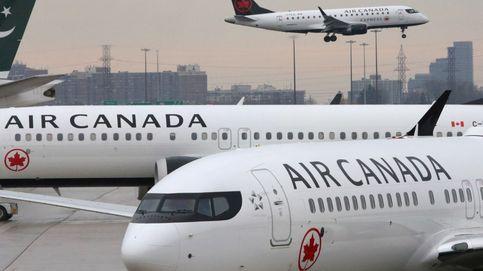 Última hora sobre el avión de Air Canada en Madrid: un caza F-18 evalua los daños