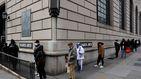 Wall Street sube con fuerza pese al récord histórico de peticiones de paro en la semana