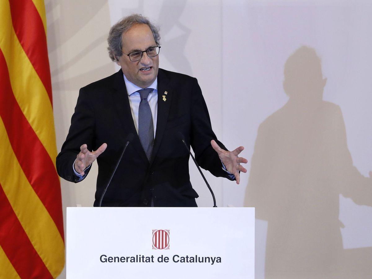 Foto: Quim Torra, expresidente de la Generalitat. (EFE)