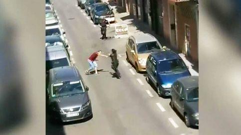Un policía dispara a un joven que intentó apuñalar a agentes en Carabanchel (Madrid)