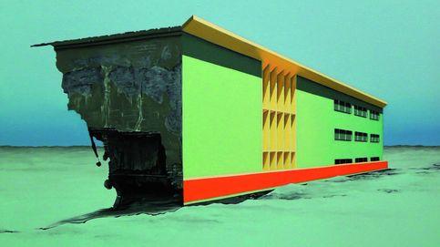 Ciudad Terminal: las impactantes pinturas de Adamo Dimitriadis llegan a Madrid