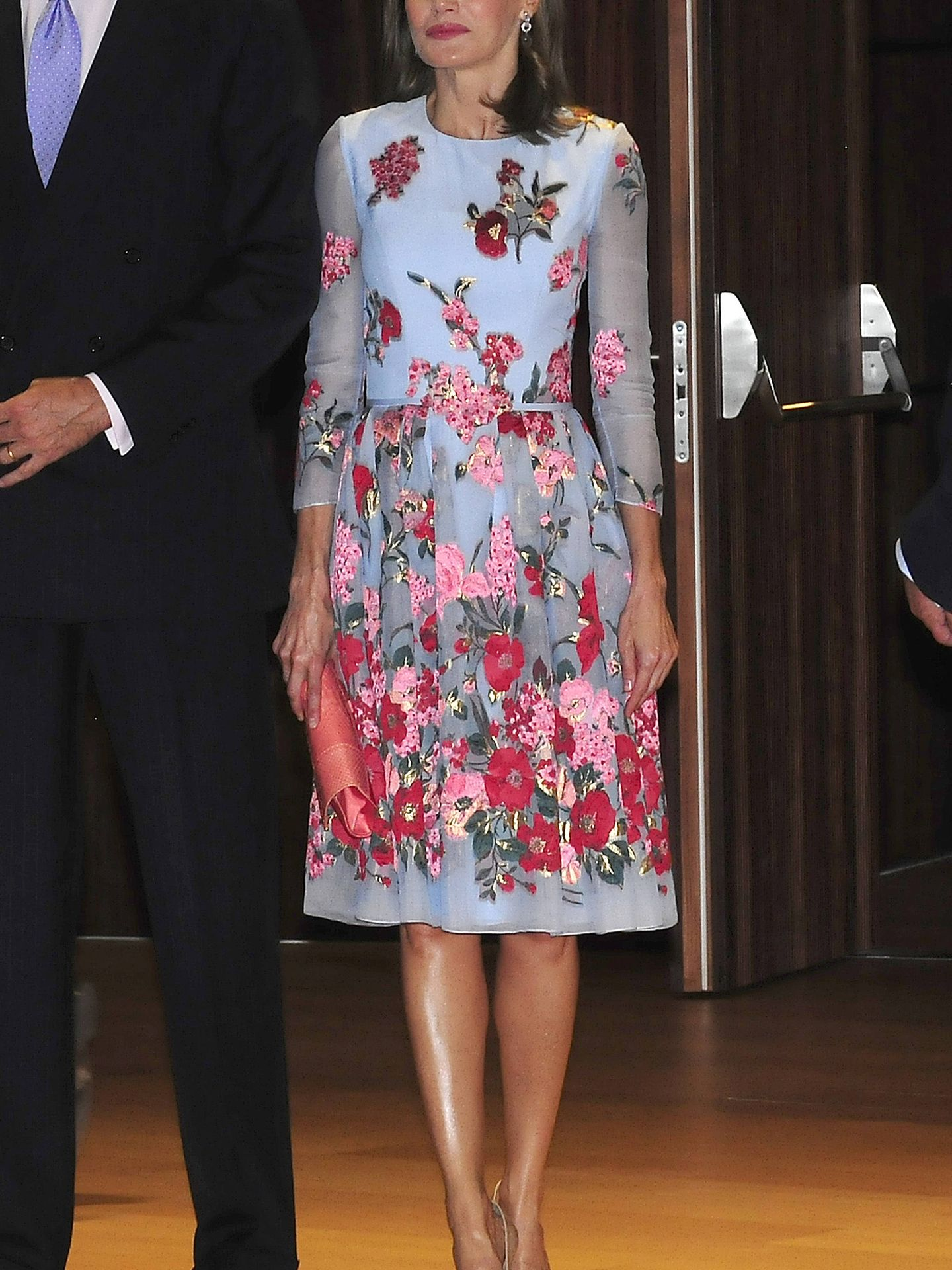 Spanish Queen Letizia during the inauguration of the new Palace of Congresses of Palma de Mallorca on Monday 25 September 2017.