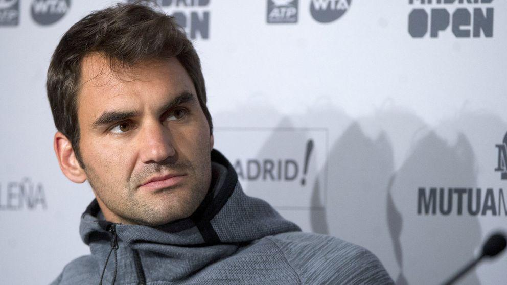 Los problemas en la espalda obligan a Federer a renunciar al Madrid Open