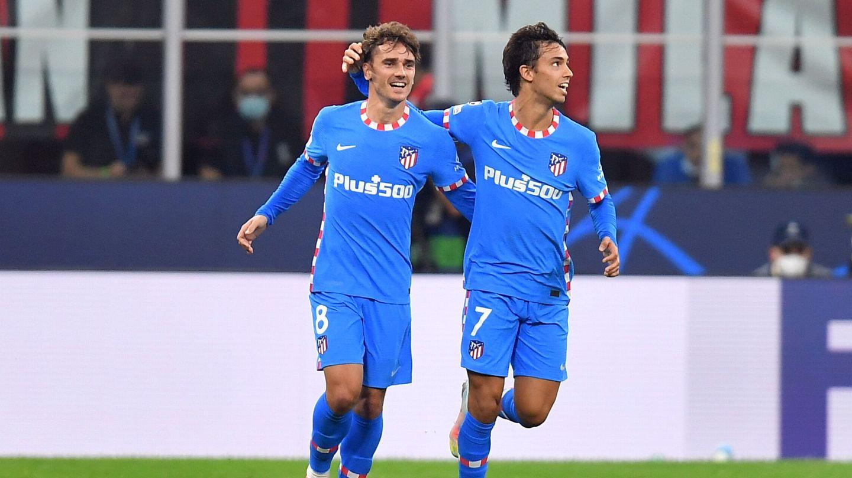 Griezmann y Joao Félix celebran el gol. (Reuters)