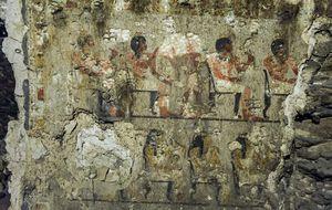 Arqueólogos españoles descubren una nueva tumba en Egipto