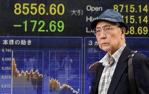 El Nikkei sufre una nueva caída y se queda en los 13.650 puntos